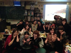 梅田で同窓会